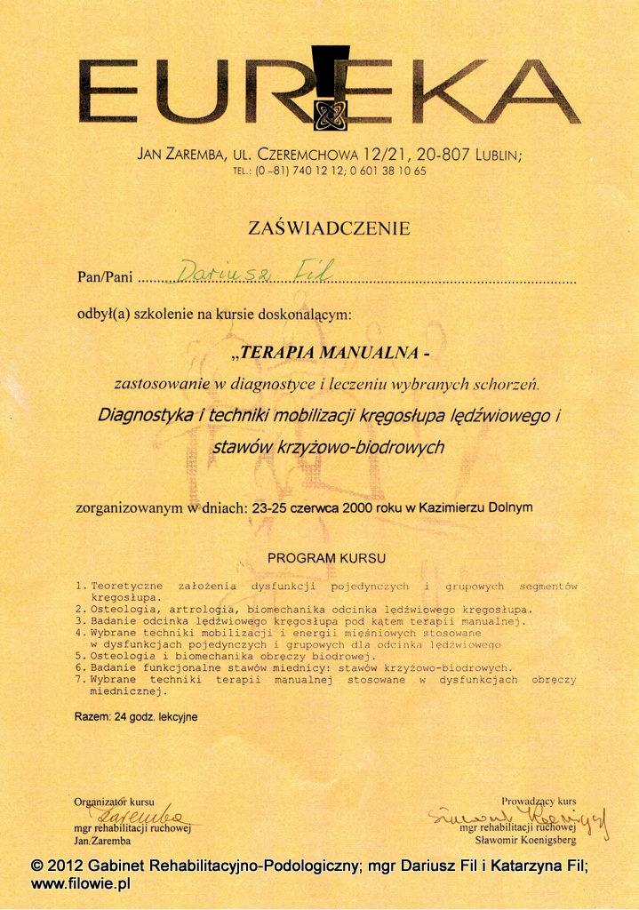 Darek-dyplom-Terapia-manualna-3-lędźwiowy