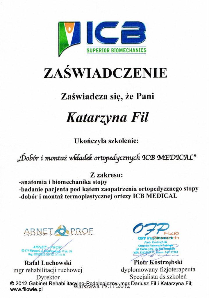 Kasia-certyfikat-ICB-wkładki