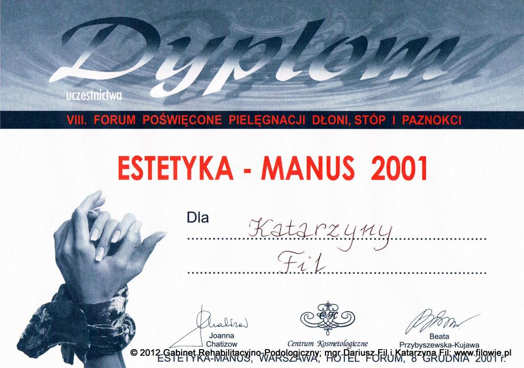 Katarzyna Fil - Dyplom, estetyka dłoni i paznokci