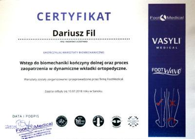 certyfikat-FootWave